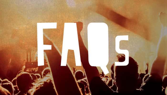 HANKFEST concert FAQs