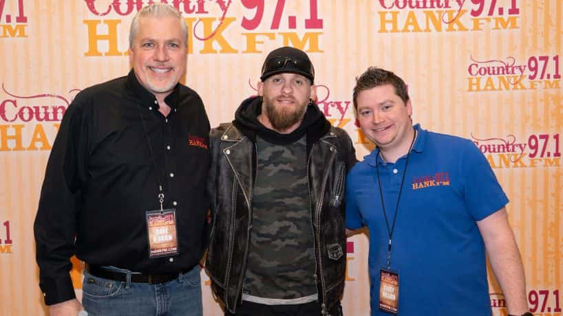 Dave and Casey with Brantley