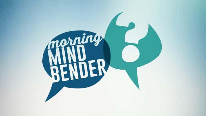 Morning Mindbender for Monday 4/8/19