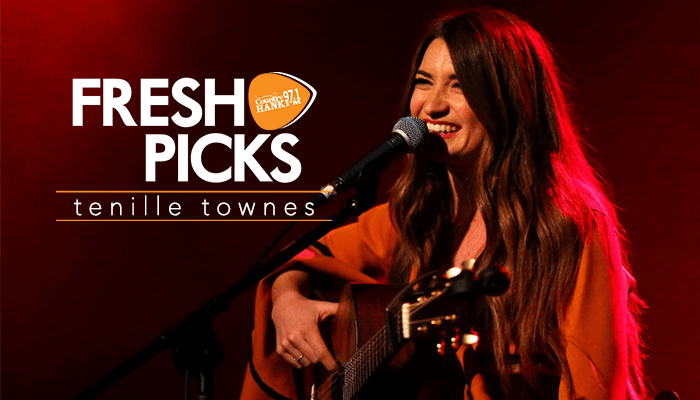 Tenille Townes performs at The Factory Theatre in Australia as a part of the 2019 Introducing Nashville show.