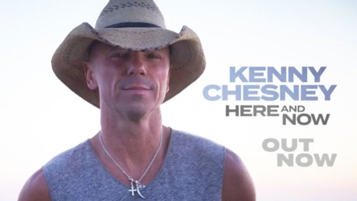 Kenny Chesney Here And Now Out Now
