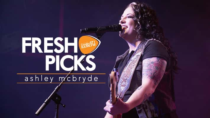 Ashley McBryde performs onstage at Marathon Music Works.
