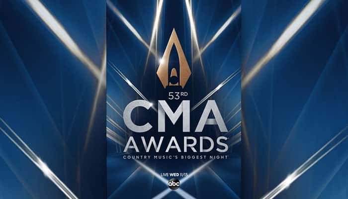 53rd Annual CMA Awards Country Music's Biggest Night LIVE Wednesday 11/13