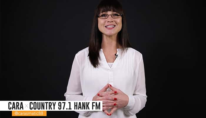 Cara x Country 97.1 HANK FM @carasmatic88