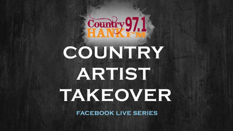 HANK FM Country Artist Takeover