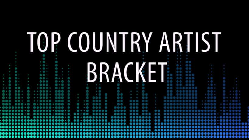 Top Country Artist Bracket