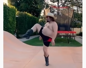 Jack Black Quarantine Dance