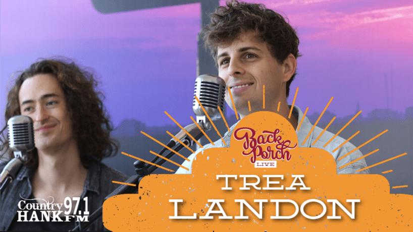 Trea Landon at Back Porch Live
