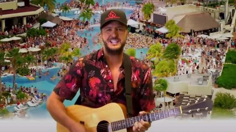 Luke Bryan One Margarita music video