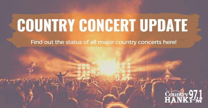 Country Concert Update