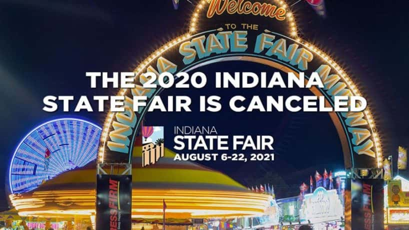 Indiana State Fair 2020 is Canceled