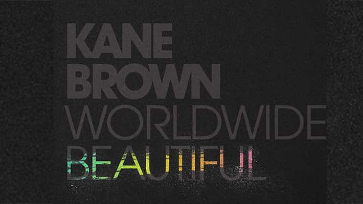 """Cover Art For Kane Brown's """"Worldwide Beautiful"""""""