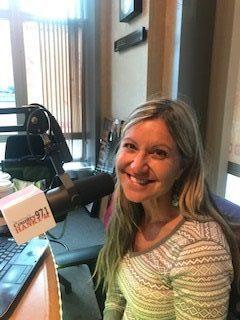 Mindy In The HANK-FM Studio