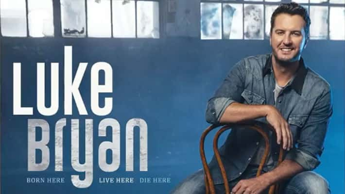 "Cover art for Luke Bryan's ""Born Here Live Here Die Here"" Album"
