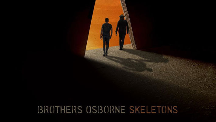 "Cover Art for Brothers Osborne's ""Skeletons"" Album"