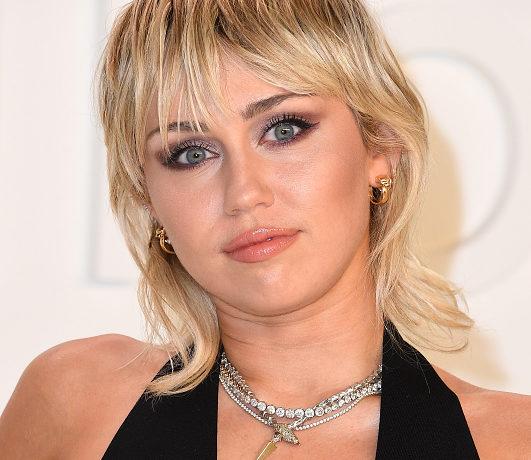 Miley Cyrus Head Shot