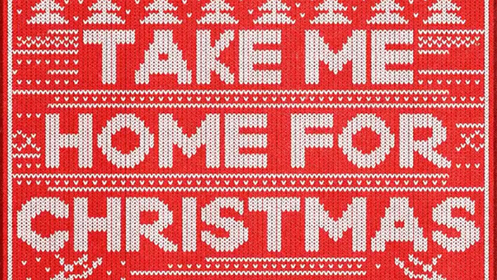 "Cover art for Dan + Shay's ""Take Me Home For Christmas"""