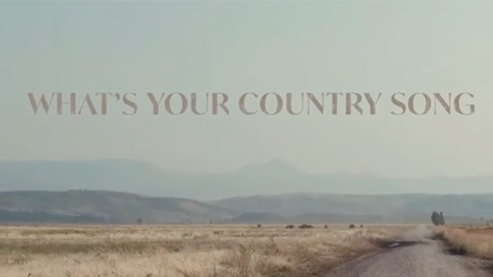 """Cover art for Thomas Rhett's 'What's Your Country Song?"""""""