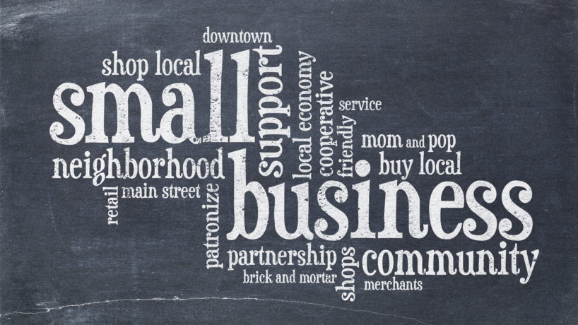 Support small businesses
