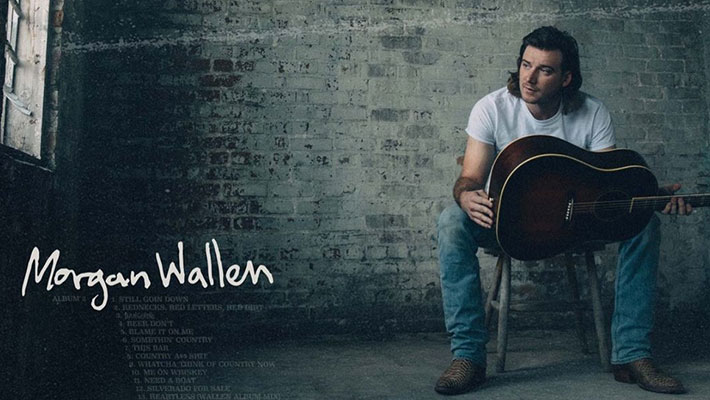 "Cover Art for Morgan Wallen's ""Dangerous"" Double Album"
