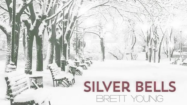 """Cover art for Brett Young's """"Silver Bells"""""""