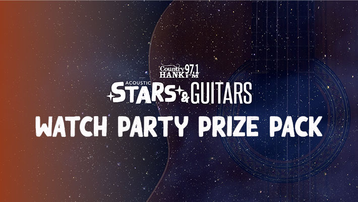 Acoustic Stars & Guitars Watch Party Prize Pack