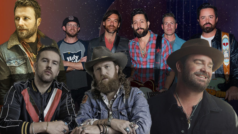 Dierks Bentley, Lee Brice, Old Dominion, and Brothers Osborne headshots