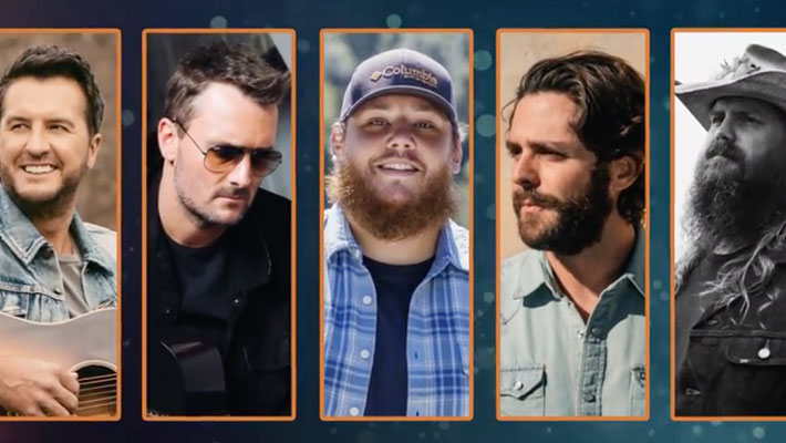 ACM Entertainer of the Year Award Nominees