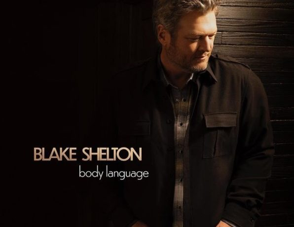 Blake Shelton's New Album cover , Body Language
