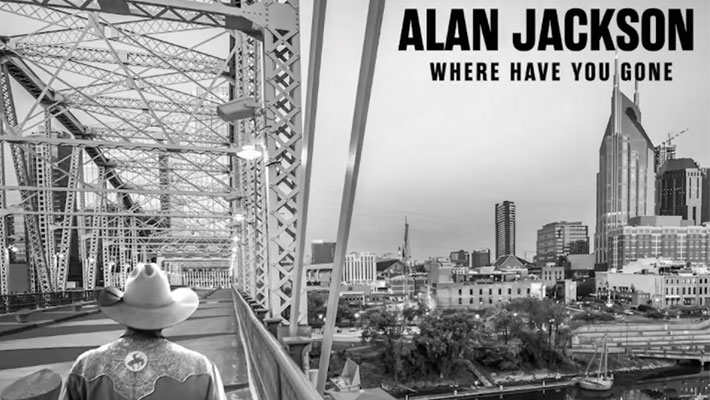 "Cover art for Alan Jackson's ""Where Have You Gone"" album"