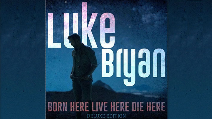 "Cover art for Luke Bryan's ""Live Here Born Here Die Here"" deluxe album"