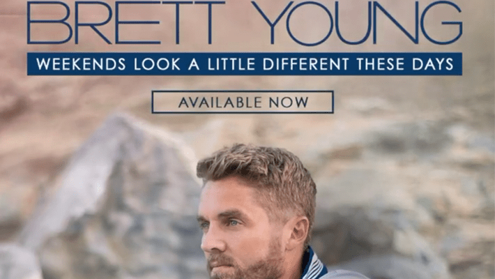 """Cover art for Brett Young's """"Weekends Look A Little Different These Days"""" album"""