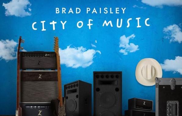 "Brad Paisley ""City of Music"" background"