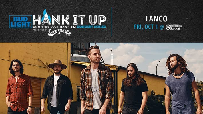 LANCO at 8 Seconds Saloon