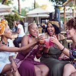 A group of women having fun