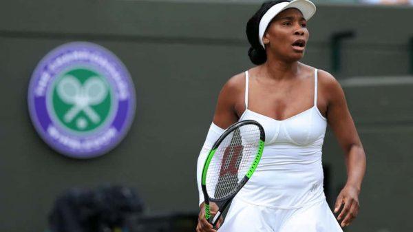 Venus Williams beat at Wimbeldon
