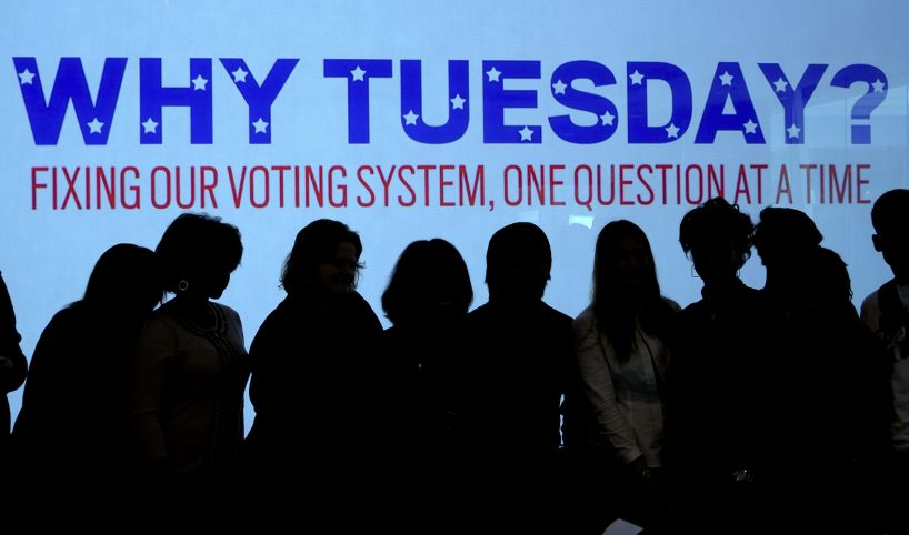 election day - Why Tuesday, fix our voting system one question at a time