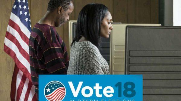 man woman voting