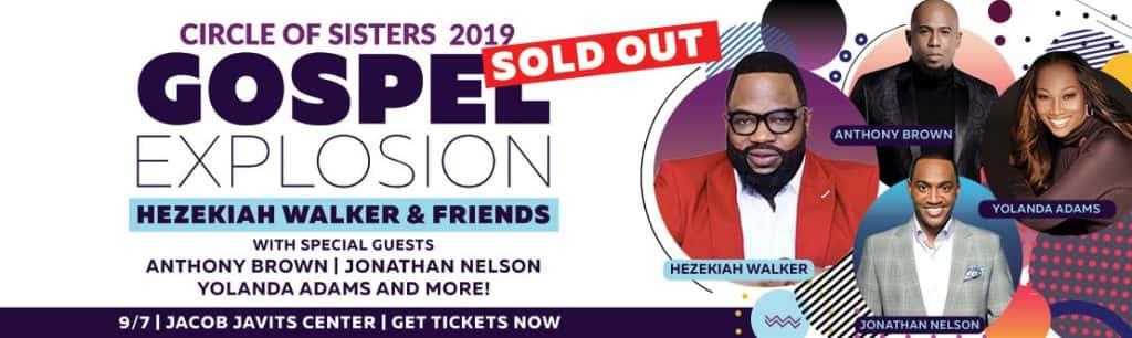 COS 2019 Gospel Explosion. Details below