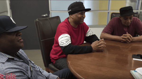 DJ Red Alert, DJ Chuck Chillout, and Marley Marl
