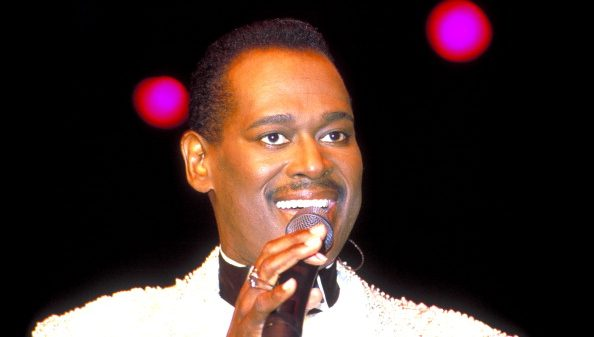 Luther Vandross during KISS FM Benefit Concert at Great Woods Amphitheater - June 4, 1994 at Great Woods Amphitheater in Mansfie