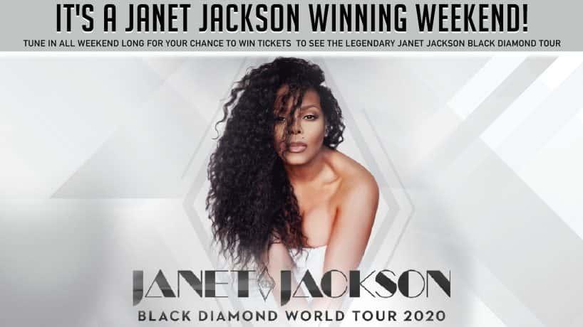 JANET JACKSON WINNING WEEKEND