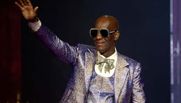 Dapper Dan onstage during the Love Ball III at Gotham Hall on June 25, 2019 in New York City