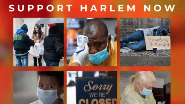 SUPPORT HARLEM NOW! flyer