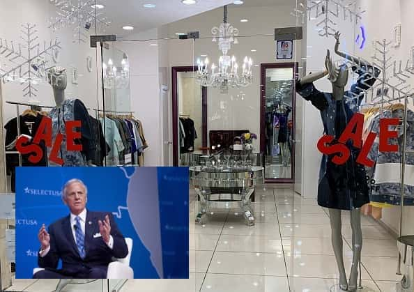 SOUTH CAROLINA GOV and ratile store front