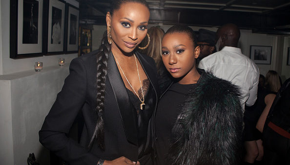 NEW YORK, NY - FEBRUARY 19: Cynthia Bailey and Noelle Robinson attend Cynthia Bailey Birthday Celebration at Omars La Ranita on February 19, 2016 in New York City.