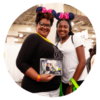 Attendees at Disney Booth at Circle of Sisters 2019