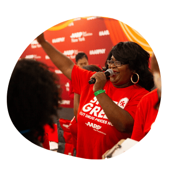 AARP Sponsor Booth at Circle of Sisters 2019