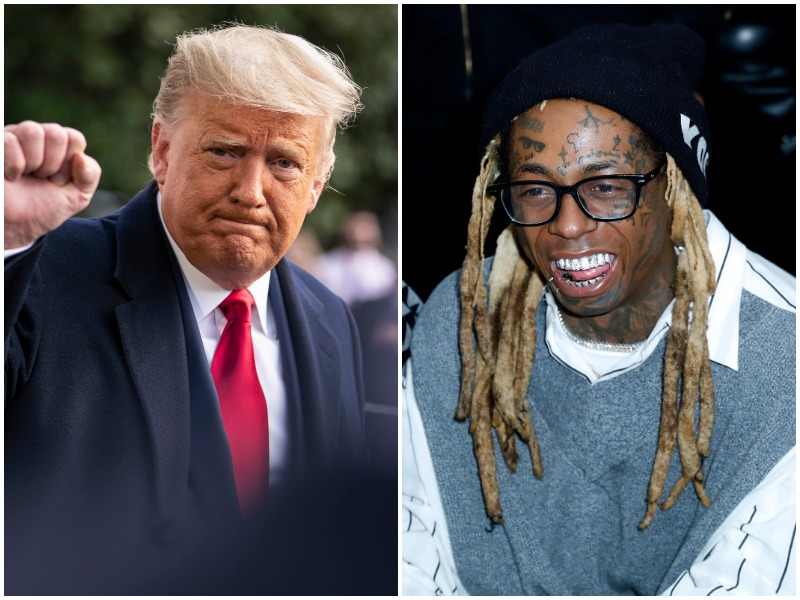 Lil Wayne Poses With Donald Trump We Had A Great Meeting 107 5 Wbls