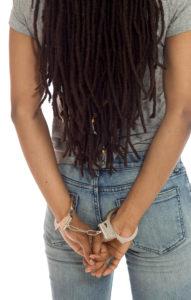 black teen handcuffs